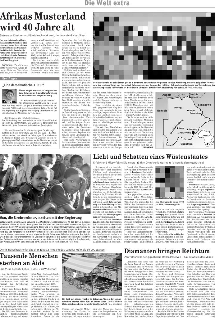 40 Jahre Botswana