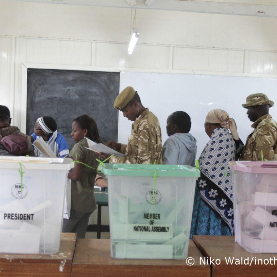 Brot für die Welt beobachtet Wahlen in Kenia - Wahltag